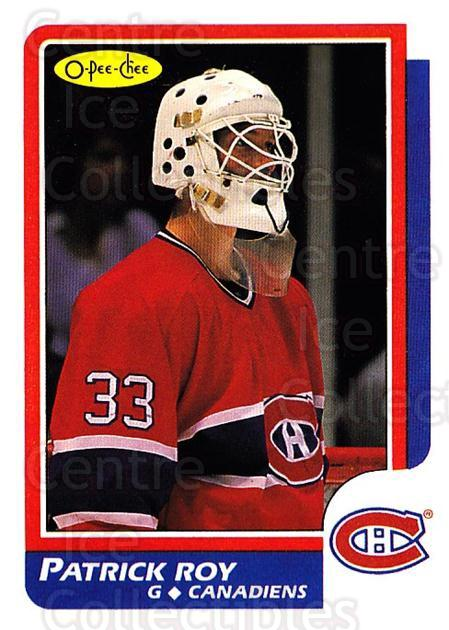 1992-93 O-Pee-Chee #111 Patrick Roy<br/>5 In Stock - $3.00 each - <a href=https://centericecollectibles.foxycart.com/cart?name=1992-93%20O-Pee-Chee%20%23111%20Patrick%20Roy...&quantity_max=5&price=$3.00&code=254606 class=foxycart> Buy it now! </a>