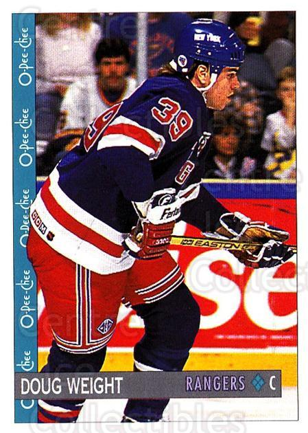 1992-93 O-Pee-Chee #114 Doug Weight<br/>4 In Stock - $1.00 each - <a href=https://centericecollectibles.foxycart.com/cart?name=1992-93%20O-Pee-Chee%20%23114%20Doug%20Weight...&quantity_max=4&price=$1.00&code=254609 class=foxycart> Buy it now! </a>