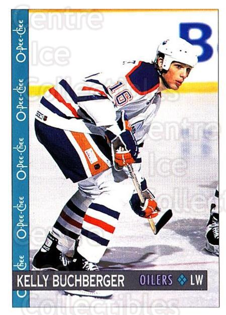 1992-93 O-Pee-Chee #125 Kelly Buchberger<br/>5 In Stock - $1.00 each - <a href=https://centericecollectibles.foxycart.com/cart?name=1992-93%20O-Pee-Chee%20%23125%20Kelly%20Buchberge...&quantity_max=5&price=$1.00&code=254620 class=foxycart> Buy it now! </a>