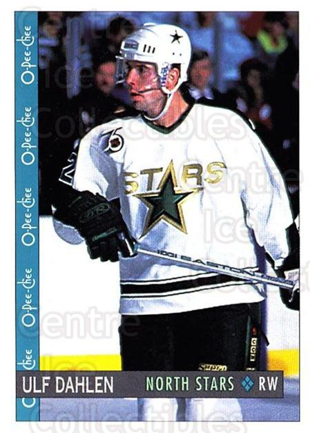 1992-93 O-Pee-Chee #129 Ulf Dahlen<br/>6 In Stock - $1.00 each - <a href=https://centericecollectibles.foxycart.com/cart?name=1992-93%20O-Pee-Chee%20%23129%20Ulf%20Dahlen...&quantity_max=6&price=$1.00&code=254624 class=foxycart> Buy it now! </a>