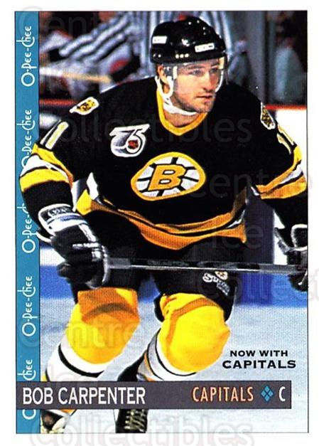 1992-93 O-Pee-Chee #131 Bob Carpenter<br/>2 In Stock - $1.00 each - <a href=https://centericecollectibles.foxycart.com/cart?name=1992-93%20O-Pee-Chee%20%23131%20Bob%20Carpenter...&quantity_max=2&price=$1.00&code=254626 class=foxycart> Buy it now! </a>