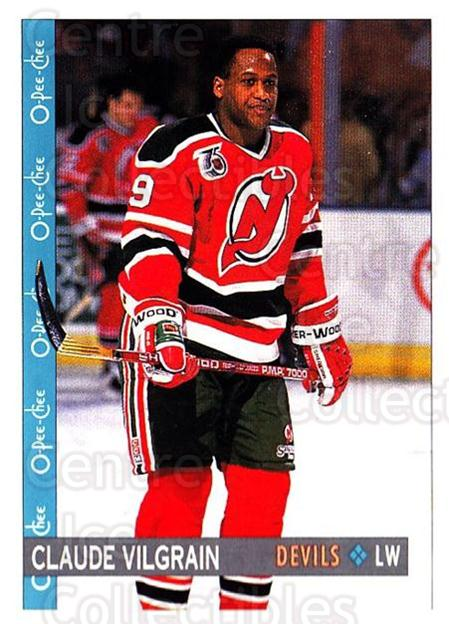 1992-93 O-Pee-Chee #133 Claude Vilgrain<br/>2 In Stock - $1.00 each - <a href=https://centericecollectibles.foxycart.com/cart?name=1992-93%20O-Pee-Chee%20%23133%20Claude%20Vilgrain...&quantity_max=2&price=$1.00&code=254628 class=foxycart> Buy it now! </a>