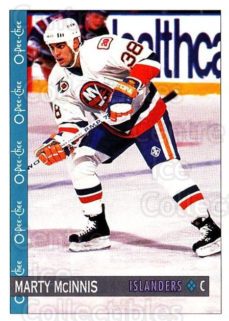 1992-93 O-Pee-Chee #135 Marty McInnis<br/>6 In Stock - $1.00 each - <a href=https://centericecollectibles.foxycart.com/cart?name=1992-93%20O-Pee-Chee%20%23135%20Marty%20McInnis...&quantity_max=6&price=$1.00&code=254630 class=foxycart> Buy it now! </a>