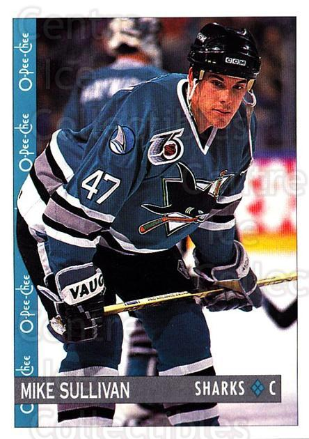 1992-93 O-Pee-Chee #144 Mike Sullivan<br/>1 In Stock - $1.00 each - <a href=https://centericecollectibles.foxycart.com/cart?name=1992-93%20O-Pee-Chee%20%23144%20Mike%20Sullivan...&quantity_max=1&price=$1.00&code=254639 class=foxycart> Buy it now! </a>