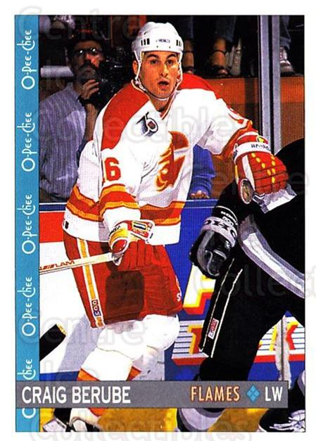1992-93 O-Pee-Chee #147 Craig Berube<br/>4 In Stock - $1.00 each - <a href=https://centericecollectibles.foxycart.com/cart?name=1992-93%20O-Pee-Chee%20%23147%20Craig%20Berube...&quantity_max=4&price=$1.00&code=254642 class=foxycart> Buy it now! </a>