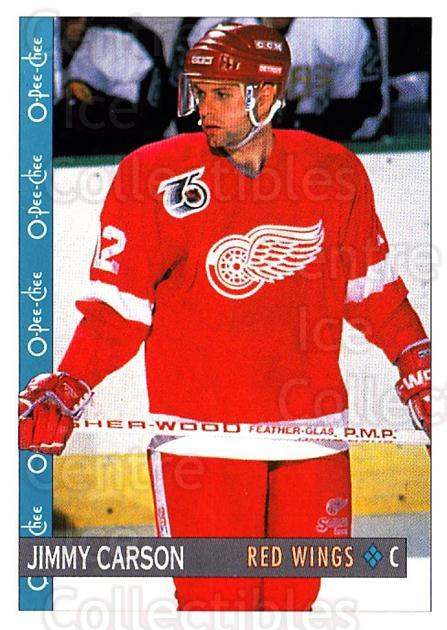 1992-93 O-Pee-Chee #152 Jimmy Carson<br/>6 In Stock - $1.00 each - <a href=https://centericecollectibles.foxycart.com/cart?name=1992-93%20O-Pee-Chee%20%23152%20Jimmy%20Carson...&quantity_max=6&price=$1.00&code=254647 class=foxycart> Buy it now! </a>