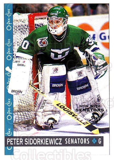 1992-93 O-Pee-Chee #175 Peter Sidorkiewicz<br/>4 In Stock - $1.00 each - <a href=https://centericecollectibles.foxycart.com/cart?name=1992-93%20O-Pee-Chee%20%23175%20Peter%20Sidorkiew...&quantity_max=4&price=$1.00&code=254670 class=foxycart> Buy it now! </a>
