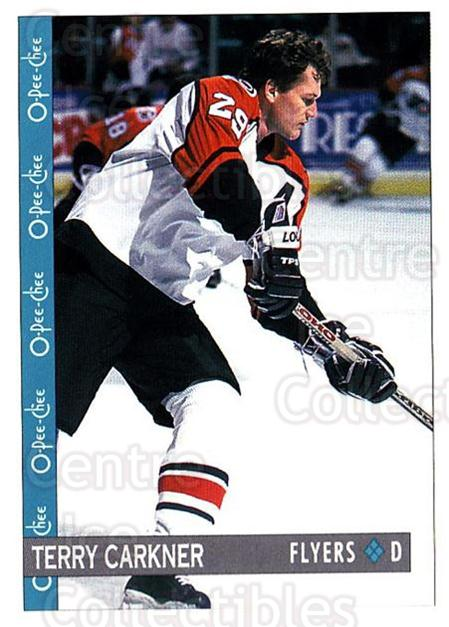 1992-93 O-Pee-Chee #180 Terry Carkner<br/>6 In Stock - $1.00 each - <a href=https://centericecollectibles.foxycart.com/cart?name=1992-93%20O-Pee-Chee%20%23180%20Terry%20Carkner...&quantity_max=6&price=$1.00&code=254675 class=foxycart> Buy it now! </a>