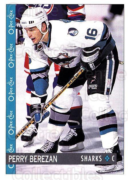 1992-93 O-Pee-Chee #182 Perry Berezan<br/>6 In Stock - $1.00 each - <a href=https://centericecollectibles.foxycart.com/cart?name=1992-93%20O-Pee-Chee%20%23182%20Perry%20Berezan...&quantity_max=6&price=$1.00&code=254677 class=foxycart> Buy it now! </a>