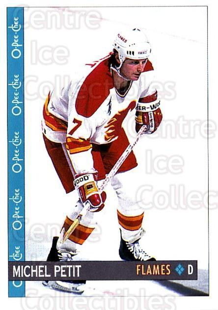 1992-93 O-Pee-Chee #185 Michel Petit<br/>2 In Stock - $1.00 each - <a href=https://centericecollectibles.foxycart.com/cart?name=1992-93%20O-Pee-Chee%20%23185%20Michel%20Petit...&quantity_max=2&price=$1.00&code=254680 class=foxycart> Buy it now! </a>
