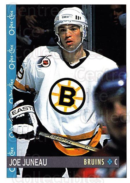 1992-93 O-Pee-Chee #189 Joe Juneau<br/>7 In Stock - $1.00 each - <a href=https://centericecollectibles.foxycart.com/cart?name=1992-93%20O-Pee-Chee%20%23189%20Joe%20Juneau...&quantity_max=7&price=$1.00&code=254684 class=foxycart> Buy it now! </a>