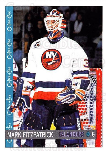 1992-93 O-Pee-Chee #204 Mark Fitzpatrick<br/>4 In Stock - $1.00 each - <a href=https://centericecollectibles.foxycart.com/cart?name=1992-93%20O-Pee-Chee%20%23204%20Mark%20Fitzpatric...&quantity_max=4&price=$1.00&code=254699 class=foxycart> Buy it now! </a>