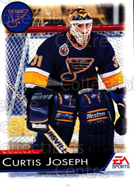 1994 EA Sports #126 Curtis Joseph<br/>6 In Stock - $1.00 each - <a href=https://centericecollectibles.foxycart.com/cart?name=1994%20EA%20Sports%20%23126%20Curtis%20Joseph...&quantity_max=6&price=$1.00&code=2546 class=foxycart> Buy it now! </a>
