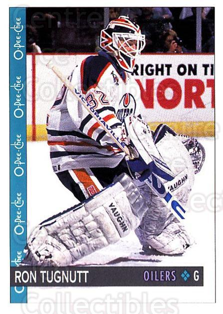 1992-93 O-Pee-Chee #211 Ron Tugnutt<br/>6 In Stock - $1.00 each - <a href=https://centericecollectibles.foxycart.com/cart?name=1992-93%20O-Pee-Chee%20%23211%20Ron%20Tugnutt...&quantity_max=6&price=$1.00&code=254706 class=foxycart> Buy it now! </a>