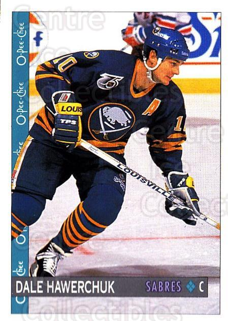 1992-93 O-Pee-Chee #212 Dale Hawerchuk<br/>5 In Stock - $1.00 each - <a href=https://centericecollectibles.foxycart.com/cart?name=1992-93%20O-Pee-Chee%20%23212%20Dale%20Hawerchuk...&quantity_max=5&price=$1.00&code=254707 class=foxycart> Buy it now! </a>