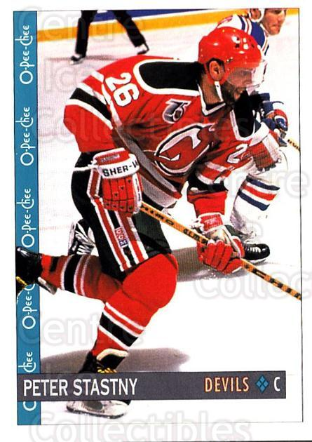 1992-93 O-Pee-Chee #216 Peter Stastny<br/>1 In Stock - $2.00 each - <a href=https://centericecollectibles.foxycart.com/cart?name=1992-93%20O-Pee-Chee%20%23216%20Peter%20Stastny...&quantity_max=1&price=$2.00&code=254711 class=foxycart> Buy it now! </a>