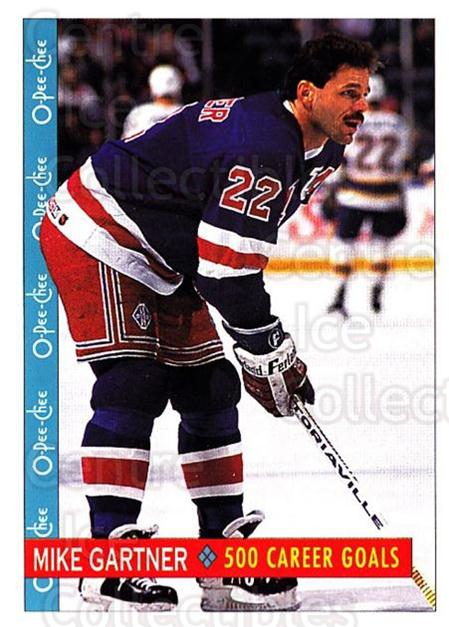 1992-93 O-Pee-Chee #245 Mike Gartner<br/>6 In Stock - $1.00 each - <a href=https://centericecollectibles.foxycart.com/cart?name=1992-93%20O-Pee-Chee%20%23245%20Mike%20Gartner...&quantity_max=6&price=$1.00&code=254740 class=foxycart> Buy it now! </a>