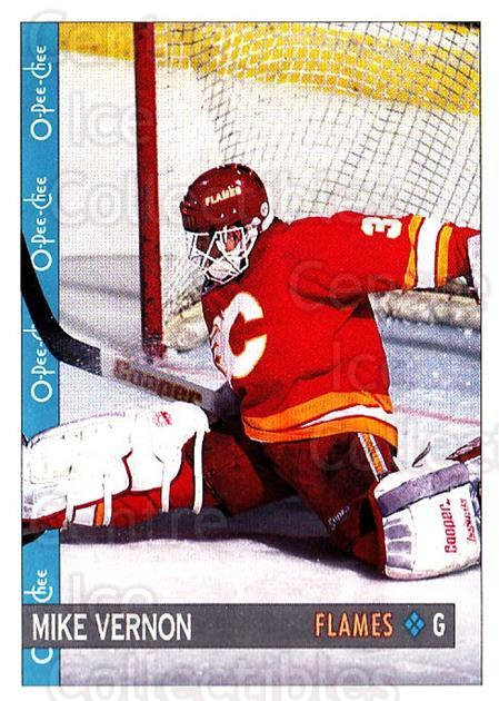 1992-93 O-Pee-Chee #247 Mike Vernon<br/>5 In Stock - $1.00 each - <a href=https://centericecollectibles.foxycart.com/cart?name=1992-93%20O-Pee-Chee%20%23247%20Mike%20Vernon...&quantity_max=5&price=$1.00&code=254742 class=foxycart> Buy it now! </a>