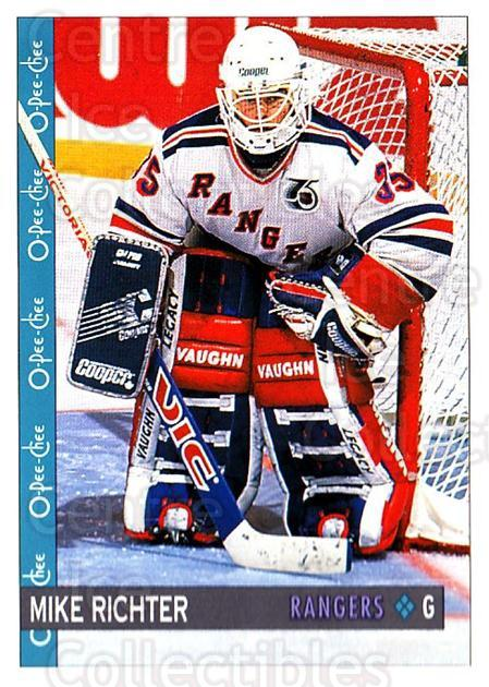 1992-93 O-Pee-Chee #259 Mike Richter<br/>5 In Stock - $1.00 each - <a href=https://centericecollectibles.foxycart.com/cart?name=1992-93%20O-Pee-Chee%20%23259%20Mike%20Richter...&quantity_max=5&price=$1.00&code=254754 class=foxycart> Buy it now! </a>