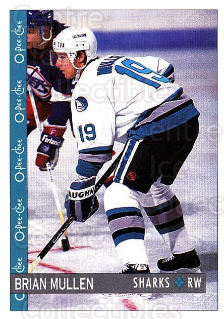 1992-93 O-Pee-Chee #260 Brian Mullen<br/>6 In Stock - $1.00 each - <a href=https://centericecollectibles.foxycart.com/cart?name=1992-93%20O-Pee-Chee%20%23260%20Brian%20Mullen...&quantity_max=6&price=$1.00&code=254755 class=foxycart> Buy it now! </a>