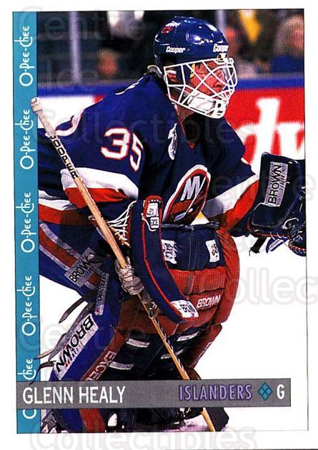 1992-93 O-Pee-Chee #262 Glenn Healy<br/>5 In Stock - $1.00 each - <a href=https://centericecollectibles.foxycart.com/cart?name=1992-93%20O-Pee-Chee%20%23262%20Glenn%20Healy...&quantity_max=5&price=$1.00&code=254757 class=foxycart> Buy it now! </a>