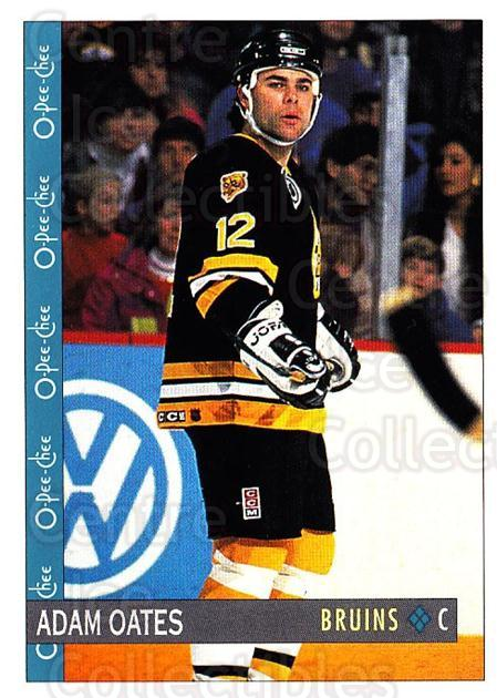 1992-93 O-Pee-Chee #272 Adam Oates<br/>5 In Stock - $1.00 each - <a href=https://centericecollectibles.foxycart.com/cart?name=1992-93%20O-Pee-Chee%20%23272%20Adam%20Oates...&quantity_max=5&price=$1.00&code=254767 class=foxycart> Buy it now! </a>