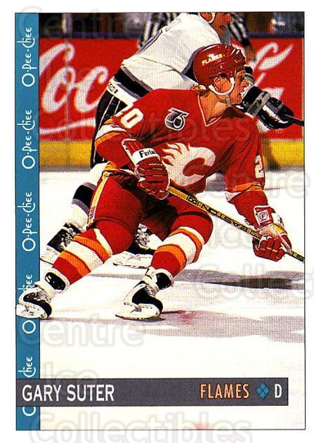 1992-93 O-Pee-Chee #278 Gary Suter<br/>6 In Stock - $1.00 each - <a href=https://centericecollectibles.foxycart.com/cart?name=1992-93%20O-Pee-Chee%20%23278%20Gary%20Suter...&quantity_max=6&price=$1.00&code=254773 class=foxycart> Buy it now! </a>