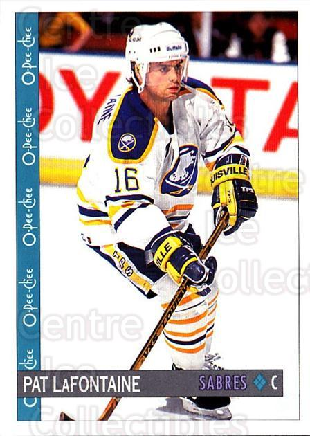 1992-93 O-Pee-Chee #285 Pat LaFontaine<br/>5 In Stock - $1.00 each - <a href=https://centericecollectibles.foxycart.com/cart?name=1992-93%20O-Pee-Chee%20%23285%20Pat%20LaFontaine...&quantity_max=5&price=$1.00&code=254780 class=foxycart> Buy it now! </a>