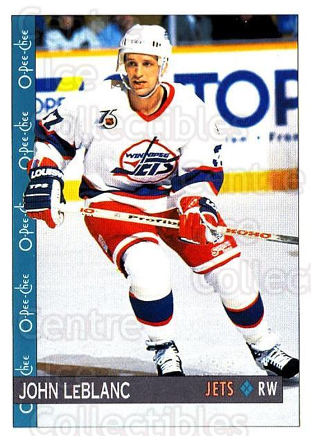 1992-93 O-Pee-Chee #287 John LeBlanc<br/>4 In Stock - $1.00 each - <a href=https://centericecollectibles.foxycart.com/cart?name=1992-93%20O-Pee-Chee%20%23287%20John%20LeBlanc...&quantity_max=4&price=$1.00&code=254782 class=foxycart> Buy it now! </a>