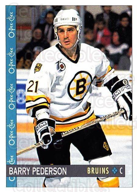 1992-93 O-Pee-Chee #295 Barry Pederson<br/>5 In Stock - $1.00 each - <a href=https://centericecollectibles.foxycart.com/cart?name=1992-93%20O-Pee-Chee%20%23295%20Barry%20Pederson...&quantity_max=5&price=$1.00&code=254790 class=foxycart> Buy it now! </a>