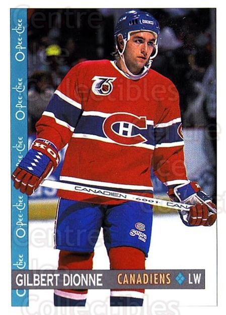 1992-93 O-Pee-Chee #307 Gilbert Dionne<br/>2 In Stock - $1.00 each - <a href=https://centericecollectibles.foxycart.com/cart?name=1992-93%20O-Pee-Chee%20%23307%20Gilbert%20Dionne...&quantity_max=2&price=$1.00&code=254802 class=foxycart> Buy it now! </a>