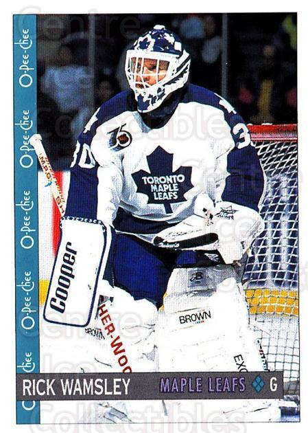 1992-93 O-Pee-Chee #310 Rick Wamsley<br/>5 In Stock - $1.00 each - <a href=https://centericecollectibles.foxycart.com/cart?name=1992-93%20O-Pee-Chee%20%23310%20Rick%20Wamsley...&quantity_max=5&price=$1.00&code=254805 class=foxycart> Buy it now! </a>