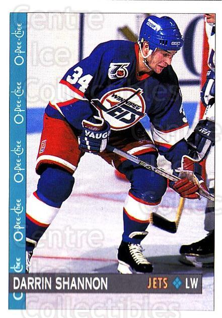 1992-93 O-Pee-Chee #332 Darrin Shannon<br/>6 In Stock - $1.00 each - <a href=https://centericecollectibles.foxycart.com/cart?name=1992-93%20O-Pee-Chee%20%23332%20Darrin%20Shannon...&quantity_max=6&price=$1.00&code=254827 class=foxycart> Buy it now! </a>