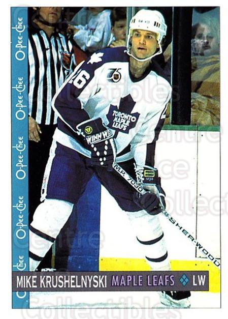 1992-93 O-Pee-Chee #335 Mike Krushelnyski<br/>6 In Stock - $1.00 each - <a href=https://centericecollectibles.foxycart.com/cart?name=1992-93%20O-Pee-Chee%20%23335%20Mike%20Krushelnys...&quantity_max=6&price=$1.00&code=254830 class=foxycart> Buy it now! </a>