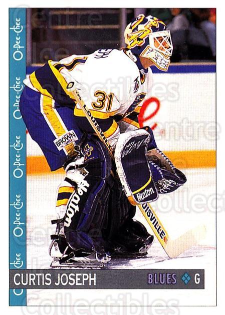 1992-93 O-Pee-Chee #339 Curtis Joseph<br/>4 In Stock - $1.00 each - <a href=https://centericecollectibles.foxycart.com/cart?name=1992-93%20O-Pee-Chee%20%23339%20Curtis%20Joseph...&quantity_max=4&price=$1.00&code=254834 class=foxycart> Buy it now! </a>