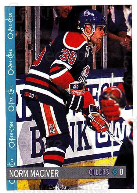 1992-93 O-Pee-Chee #344 Norm Maciver<br/>6 In Stock - $1.00 each - <a href=https://centericecollectibles.foxycart.com/cart?name=1992-93%20O-Pee-Chee%20%23344%20Norm%20Maciver...&quantity_max=6&price=$1.00&code=254839 class=foxycart> Buy it now! </a>