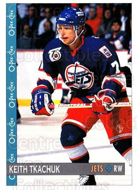 1992-93 O-Pee-Chee #346 Keith Tkachuk<br/>4 In Stock - $1.00 each - <a href=https://centericecollectibles.foxycart.com/cart?name=1992-93%20O-Pee-Chee%20%23346%20Keith%20Tkachuk...&quantity_max=4&price=$1.00&code=254841 class=foxycart> Buy it now! </a>