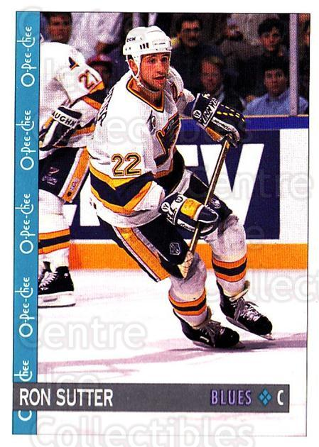 1992-93 O-Pee-Chee #362 Ron Sutter<br/>6 In Stock - $1.00 each - <a href=https://centericecollectibles.foxycart.com/cart?name=1992-93%20O-Pee-Chee%20%23362%20Ron%20Sutter...&quantity_max=6&price=$1.00&code=254857 class=foxycart> Buy it now! </a>