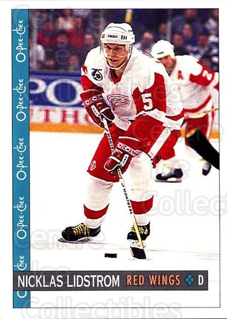 1992-93 O-Pee-Chee #369 Nicklas Lidstrom<br/>5 In Stock - $1.00 each - <a href=https://centericecollectibles.foxycart.com/cart?name=1992-93%20O-Pee-Chee%20%23369%20Nicklas%20Lidstro...&quantity_max=5&price=$1.00&code=254864 class=foxycart> Buy it now! </a>