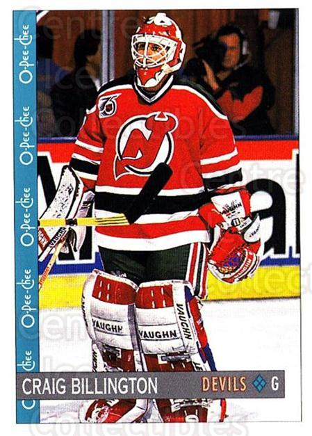 1992-93 O-Pee-Chee #372 Craig Billington<br/>6 In Stock - $1.00 each - <a href=https://centericecollectibles.foxycart.com/cart?name=1992-93%20O-Pee-Chee%20%23372%20Craig%20Billingto...&quantity_max=6&price=$1.00&code=254867 class=foxycart> Buy it now! </a>