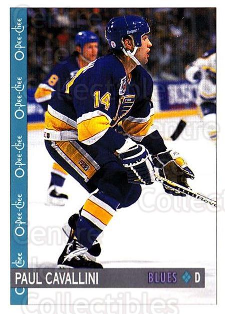 1992-93 O-Pee-Chee #379 Paul Cavallini<br/>5 In Stock - $1.00 each - <a href=https://centericecollectibles.foxycart.com/cart?name=1992-93%20O-Pee-Chee%20%23379%20Paul%20Cavallini...&quantity_max=5&price=$1.00&code=254874 class=foxycart> Buy it now! </a>