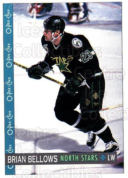 1992-93 O-Pee-Chee #384 Brian Bellows<br/>5 In Stock - $1.00 each - <a href=https://centericecollectibles.foxycart.com/cart?name=1992-93%20O-Pee-Chee%20%23384%20Brian%20Bellows...&quantity_max=5&price=$1.00&code=254879 class=foxycart> Buy it now! </a>