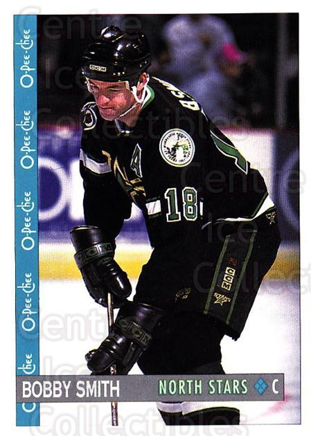 1992-93 O-Pee-Chee #396 Bobby Smith<br/>5 In Stock - $1.00 each - <a href=https://centericecollectibles.foxycart.com/cart?name=1992-93%20O-Pee-Chee%20%23396%20Bobby%20Smith...&quantity_max=5&price=$1.00&code=254891 class=foxycart> Buy it now! </a>