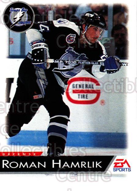 1994 EA Sports #128 Roman Hamrlik<br/>5 In Stock - $1.00 each - <a href=https://centericecollectibles.foxycart.com/cart?name=1994%20EA%20Sports%20%23128%20Roman%20Hamrlik...&quantity_max=5&price=$1.00&code=2548 class=foxycart> Buy it now! </a>