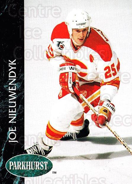 1992-93 Parkhurst #21 Joe Nieuwendyk<br/>5 In Stock - $1.00 each - <a href=https://centericecollectibles.foxycart.com/cart?name=1992-93%20Parkhurst%20%2321%20Joe%20Nieuwendyk...&quantity_max=5&price=$1.00&code=254912 class=foxycart> Buy it now! </a>