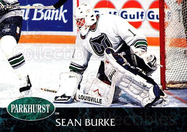 1992-93 Parkhurst #57 Sean Burke<br/>5 In Stock - $1.00 each - <a href=https://centericecollectibles.foxycart.com/cart?name=1992-93%20Parkhurst%20%2357%20Sean%20Burke...&quantity_max=5&price=$1.00&code=254948 class=foxycart> Buy it now! </a>