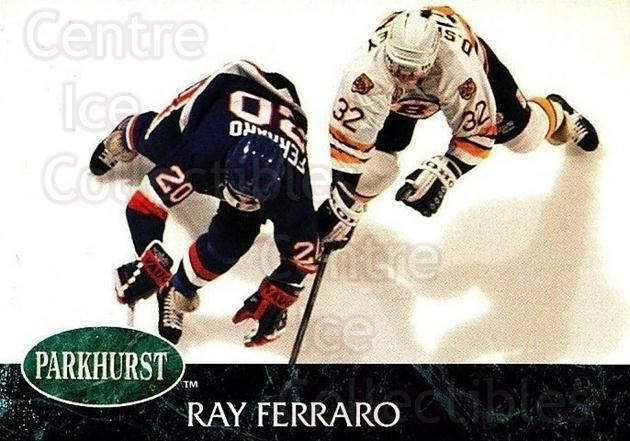 1992-93 Parkhurst #98 Ray Ferraro<br/>5 In Stock - $1.00 each - <a href=https://centericecollectibles.foxycart.com/cart?name=1992-93%20Parkhurst%20%2398%20Ray%20Ferraro...&quantity_max=5&price=$1.00&code=254989 class=foxycart> Buy it now! </a>