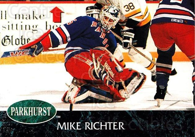 1992-93 Parkhurst #112 Mike Richter<br/>2 In Stock - $1.00 each - <a href=https://centericecollectibles.foxycart.com/cart?name=1992-93%20Parkhurst%20%23112%20Mike%20Richter...&quantity_max=2&price=$1.00&code=255003 class=foxycart> Buy it now! </a>