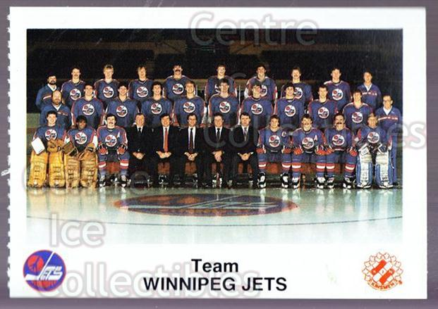 1985-86 Winnipeg Jets Police #24 Winnipeg Jets, Team Photo<br/>4 In Stock - $2.00 each - <a href=https://centericecollectibles.foxycart.com/cart?name=1985-86%20Winnipeg%20Jets%20Police%20%2324%20Winnipeg%20Jets,%20...&price=$2.00&code=25502 class=foxycart> Buy it now! </a>
