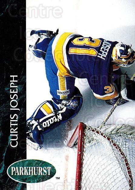 1992-93 Parkhurst #155 Curtis Joseph<br/>4 In Stock - $1.00 each - <a href=https://centericecollectibles.foxycart.com/cart?name=1992-93%20Parkhurst%20%23155%20Curtis%20Joseph...&quantity_max=4&price=$1.00&code=255046 class=foxycart> Buy it now! </a>